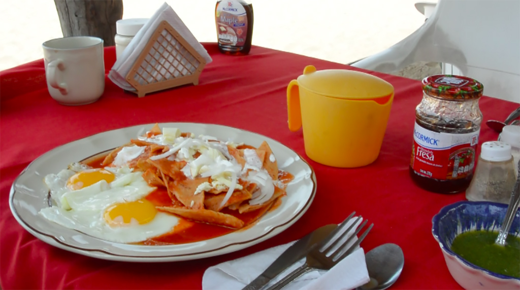 Chilaquiles: Mexican Breakfast