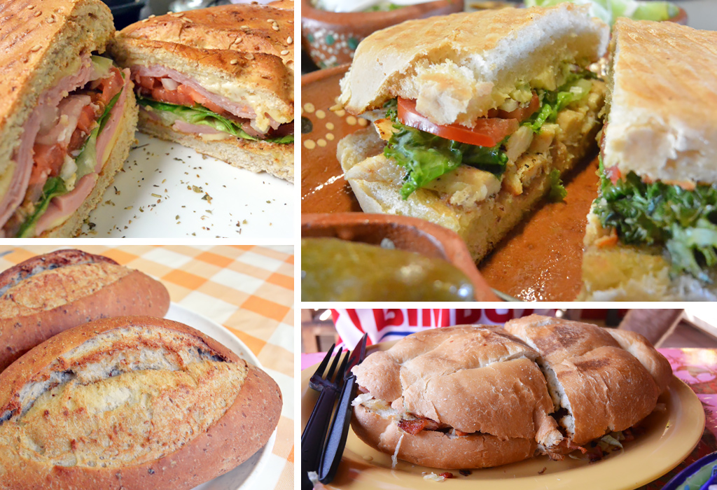 Authentic Mexican Street Food: Tortas
