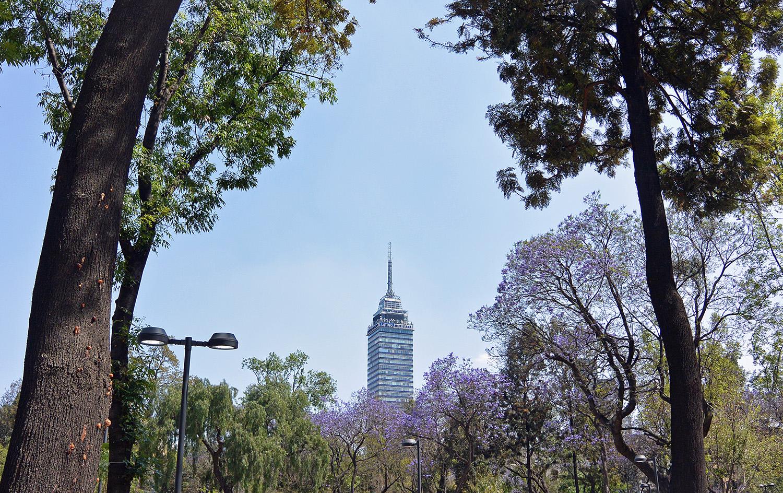 Mexico City Torre Latinoamericana