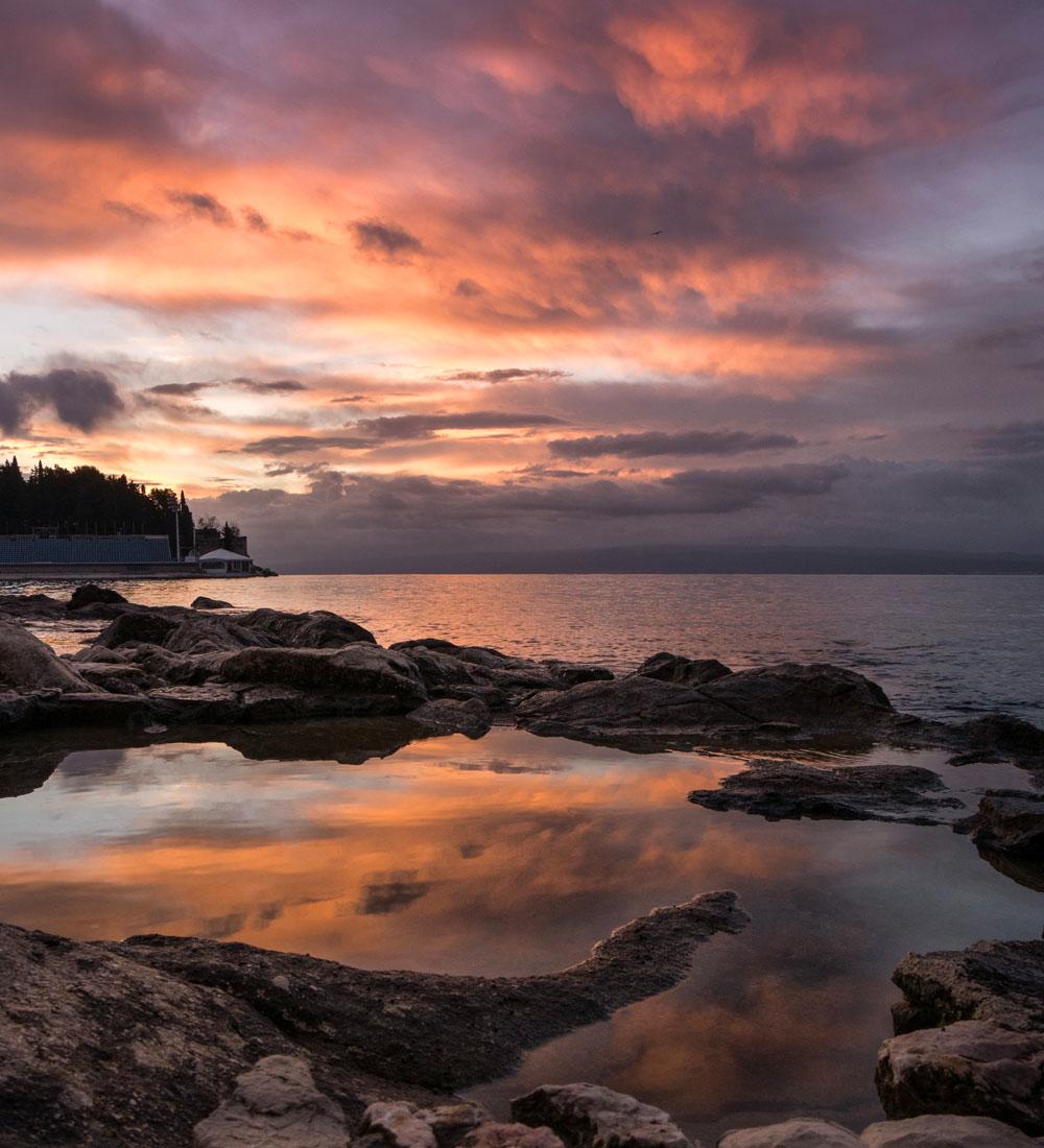 Sunrise in Split Croatia