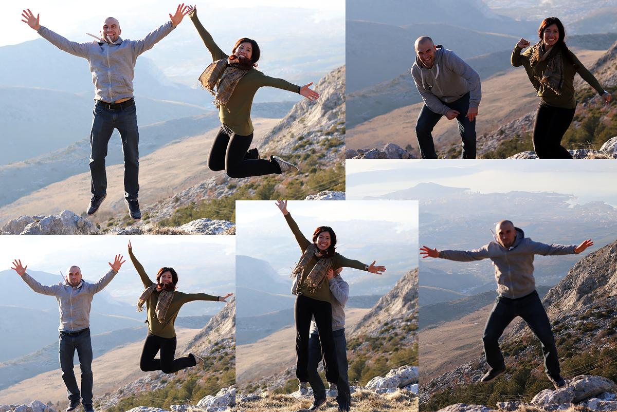 Hiking in Mosor, Mountain