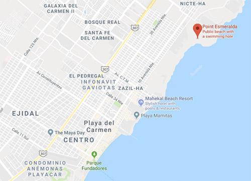 How to get to Punta Esmeralda, Mexico