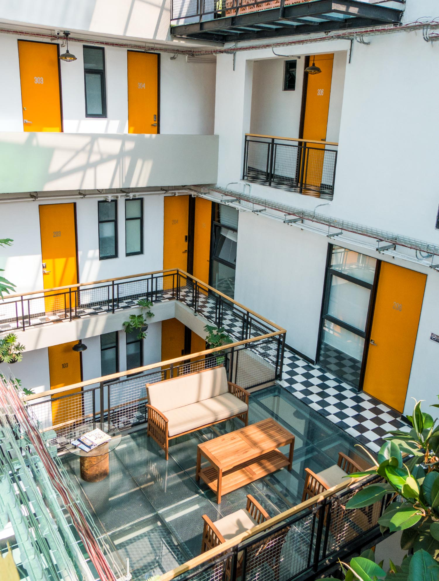 Our Lucky $300 Apartment Rental in Mexico City - Feather and the