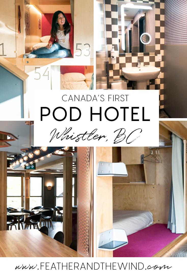 Pangea Pod Hotel, Whistler Village Canada