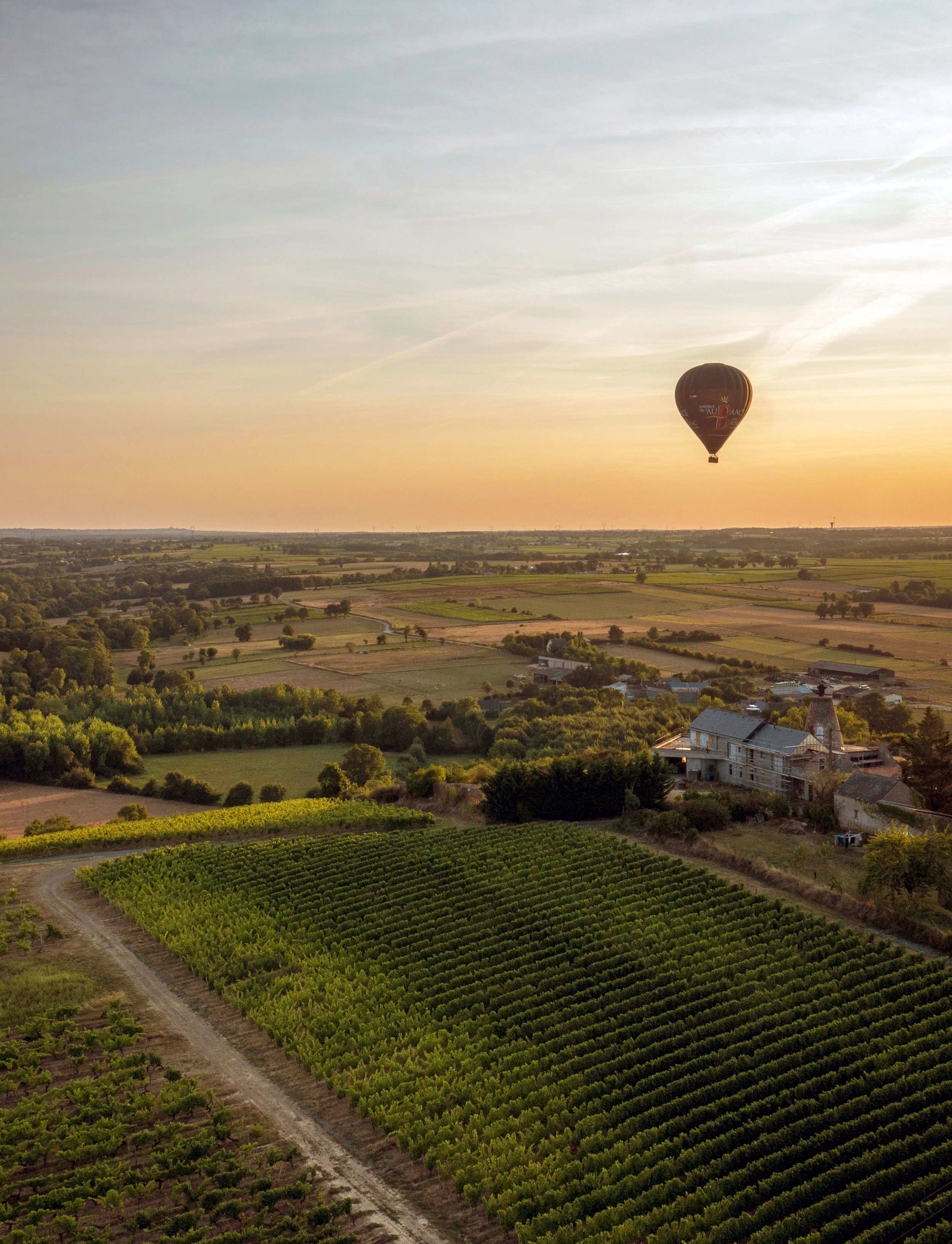Loire Valley France, Hot Air Balloon Ride