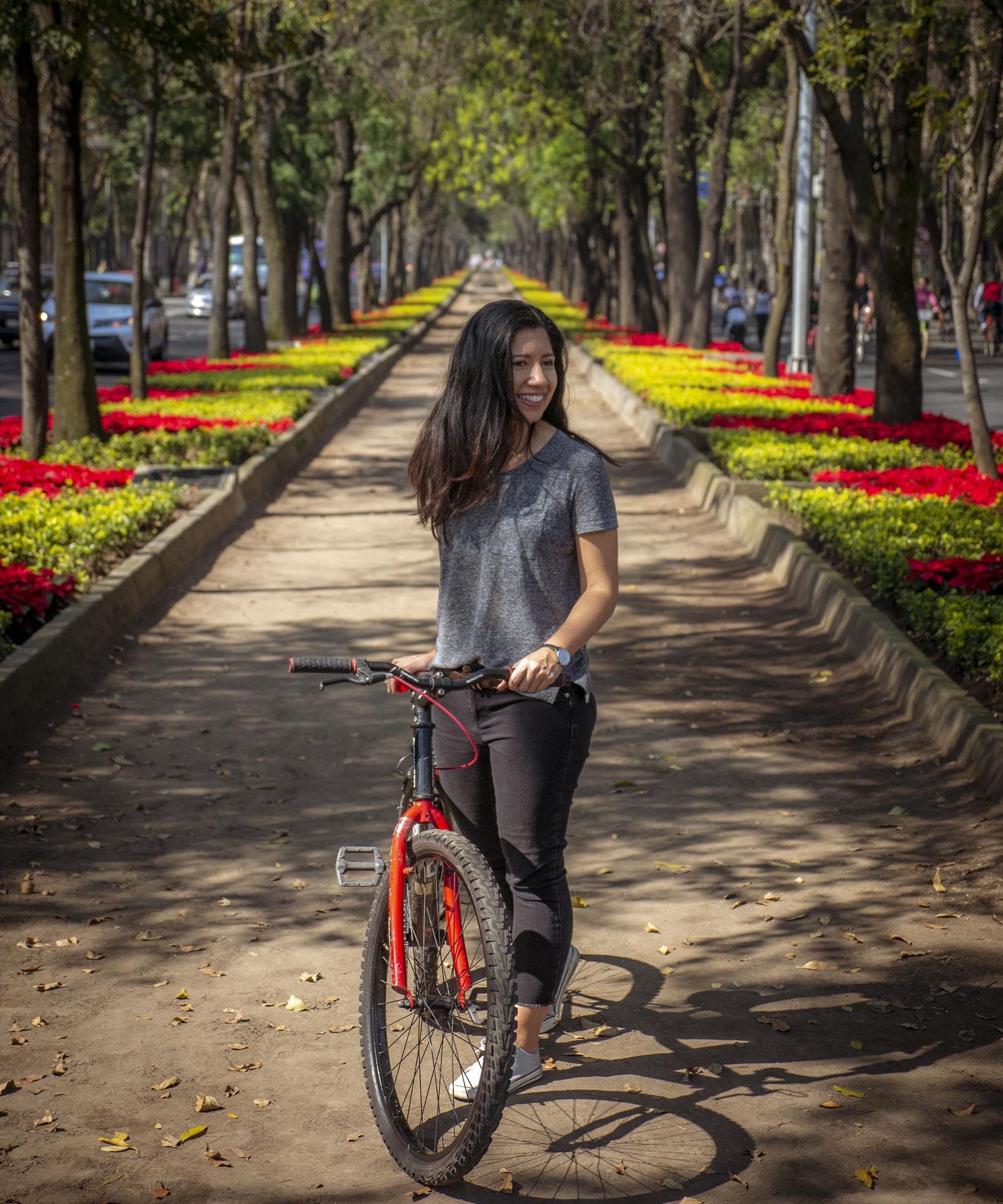 Sunday Bike Rides - Paseo de la Reforma, Mexico City