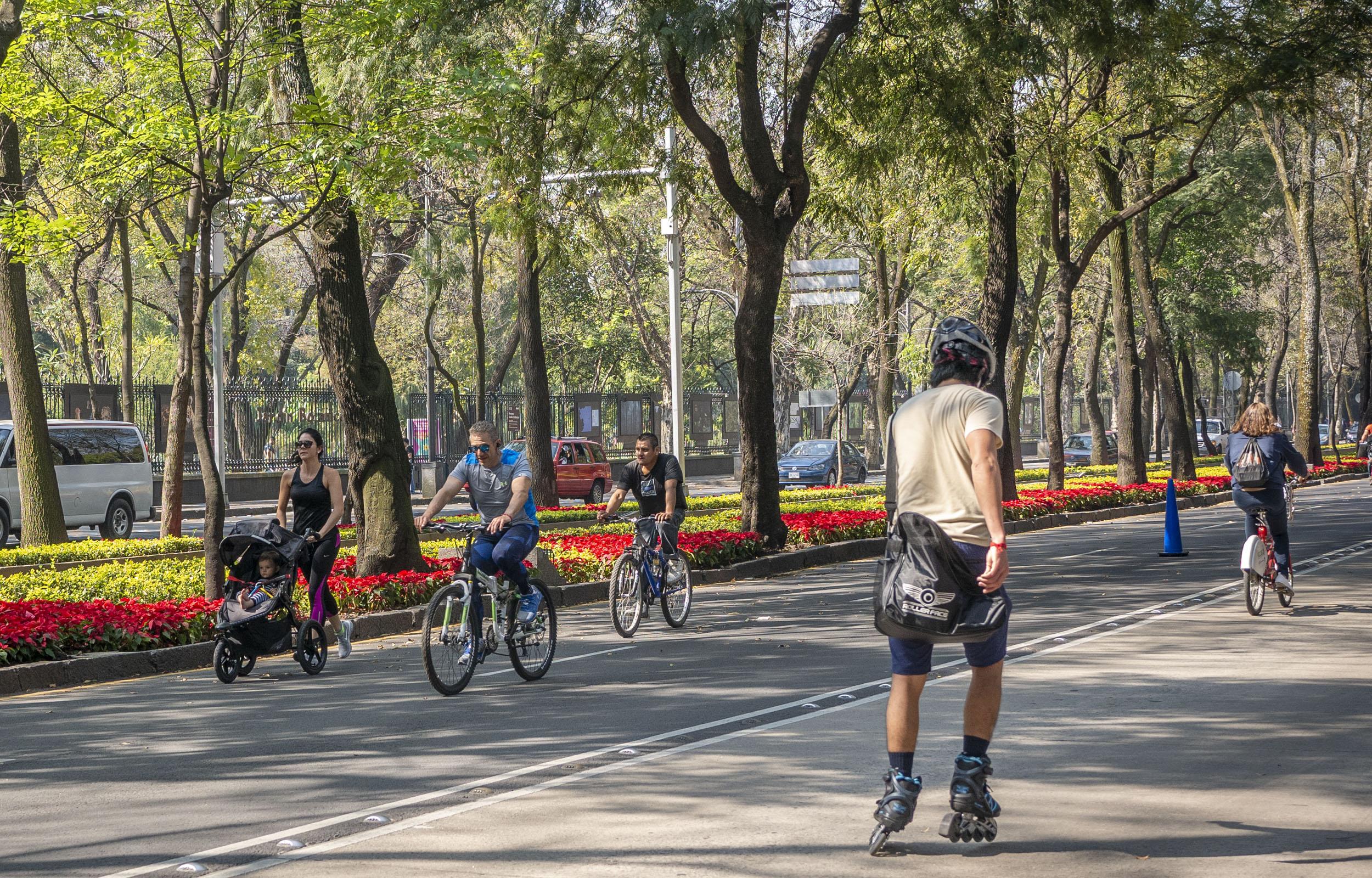 Sunday Bike Rides in Mexico City - Paseo de la Reforma