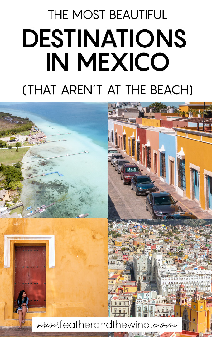 Mexico is so much more than an all-inclusive hotel stay. To prove it, check out these amazing places to visit in Mexico that aren't at the beach!