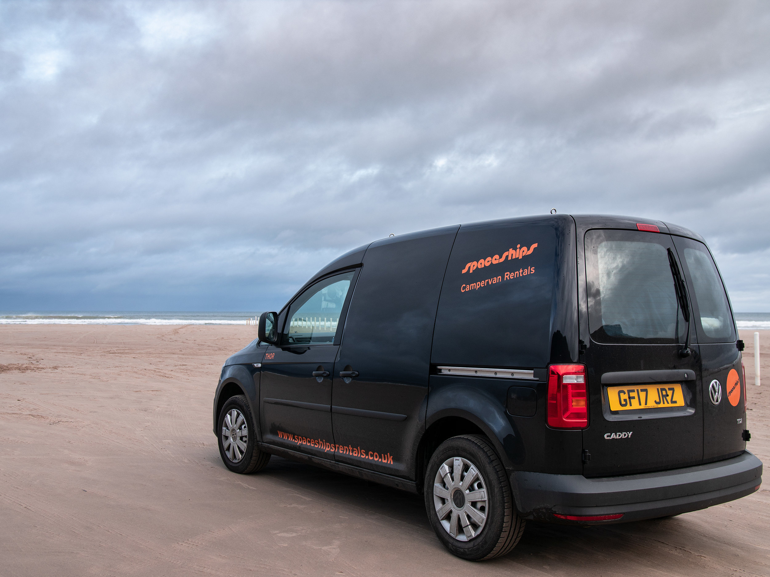 Budget Campervan Hires in Ireland
