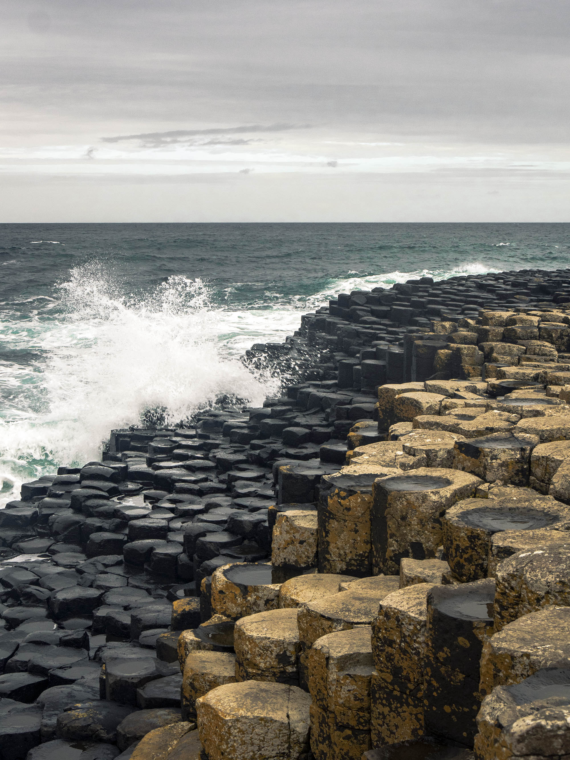 Rocks at Giant's Causeway