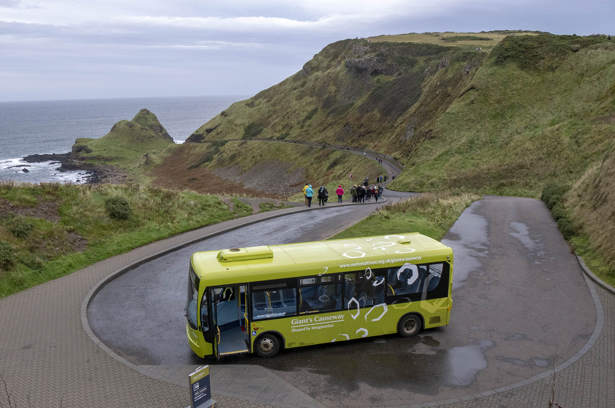 Giant's Causeway Without a Tour
