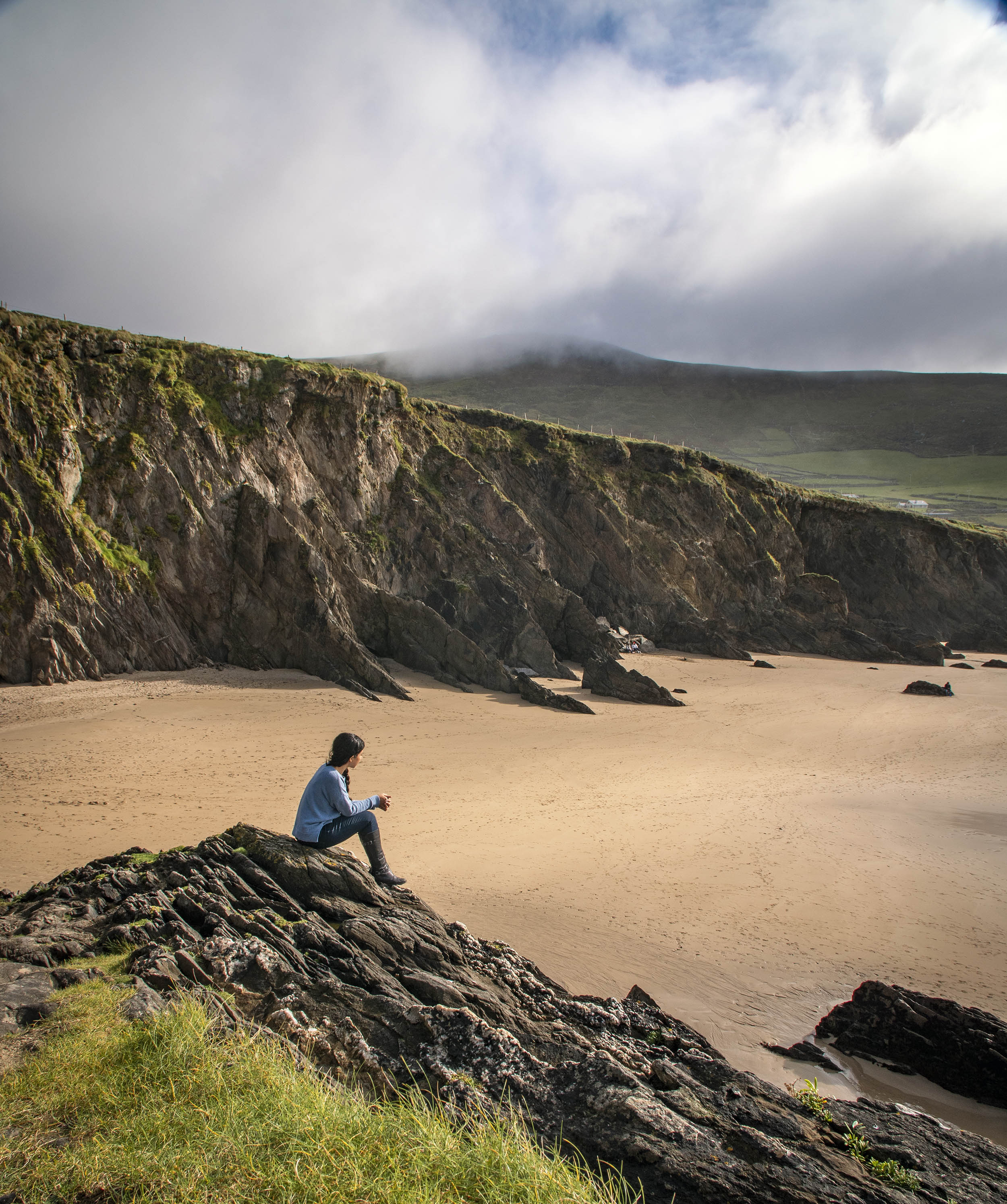 Coumenoole Beach, Dingle Peninsula Ireland