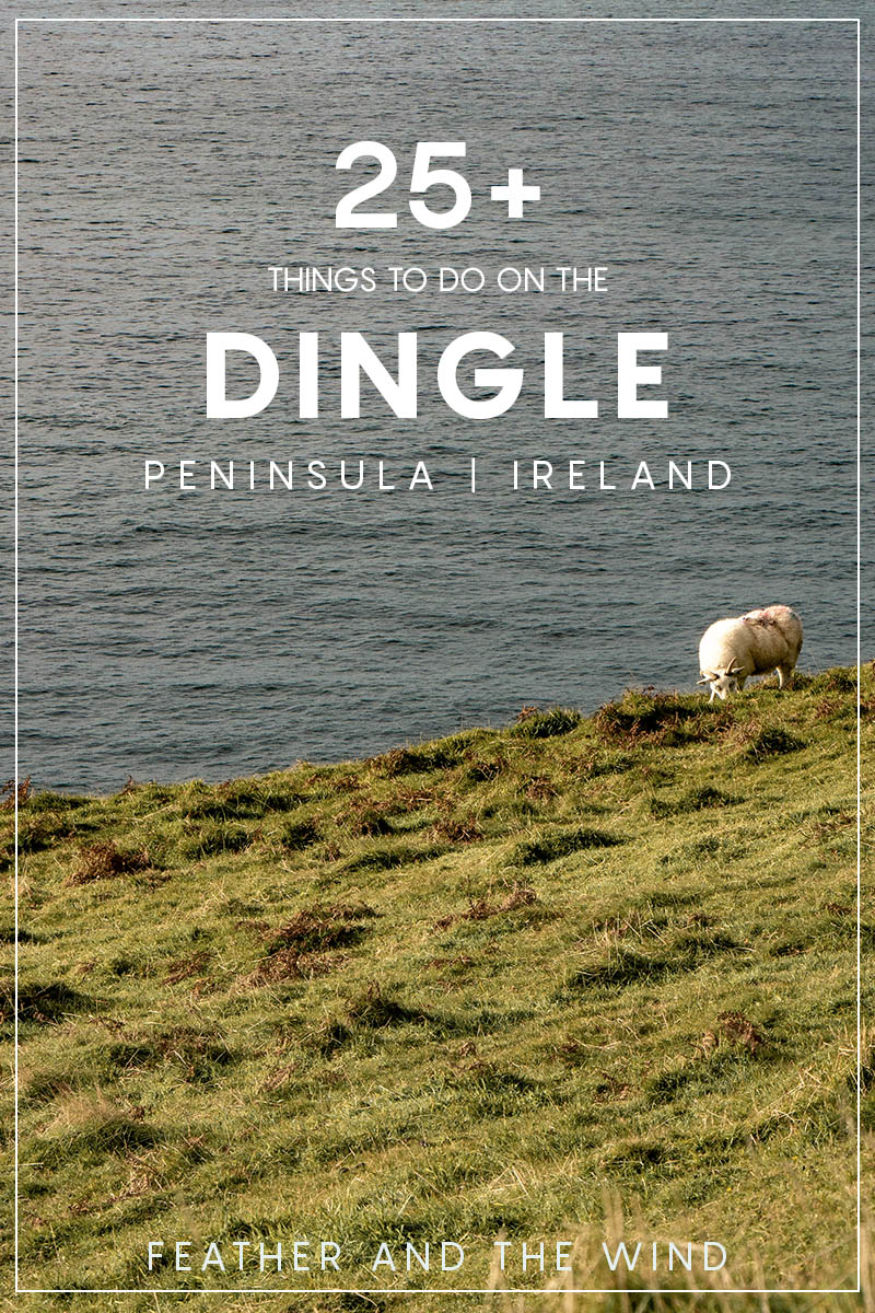 The Dingle Peninsula might just be one of the most beautiful places in the world. With diverse landscapes and charming villages, there's something for every type of traveller. Here are 25+ things to do in Dingle, Ireland!