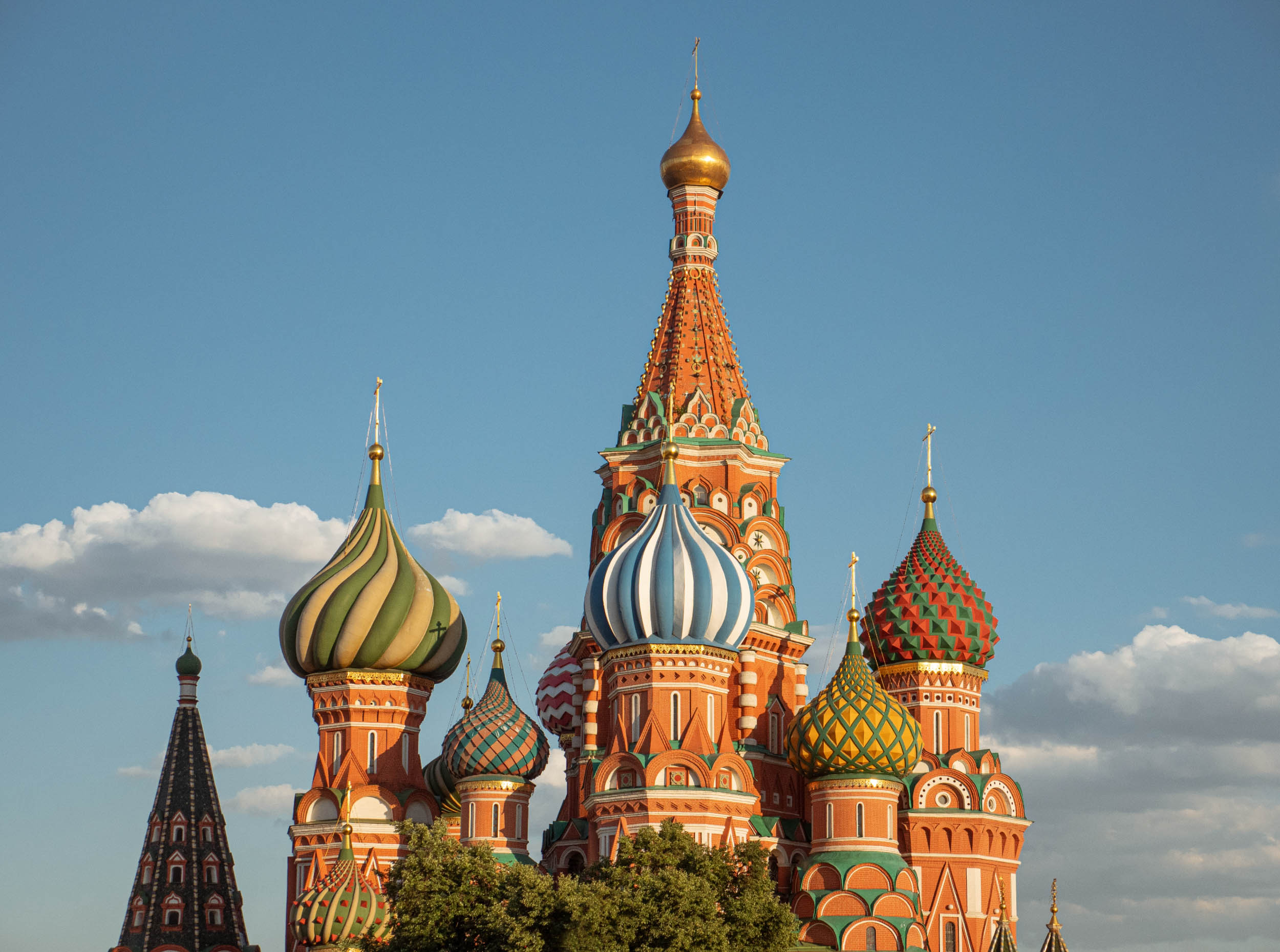 St Basils at Sunset - Russia Travel Tips