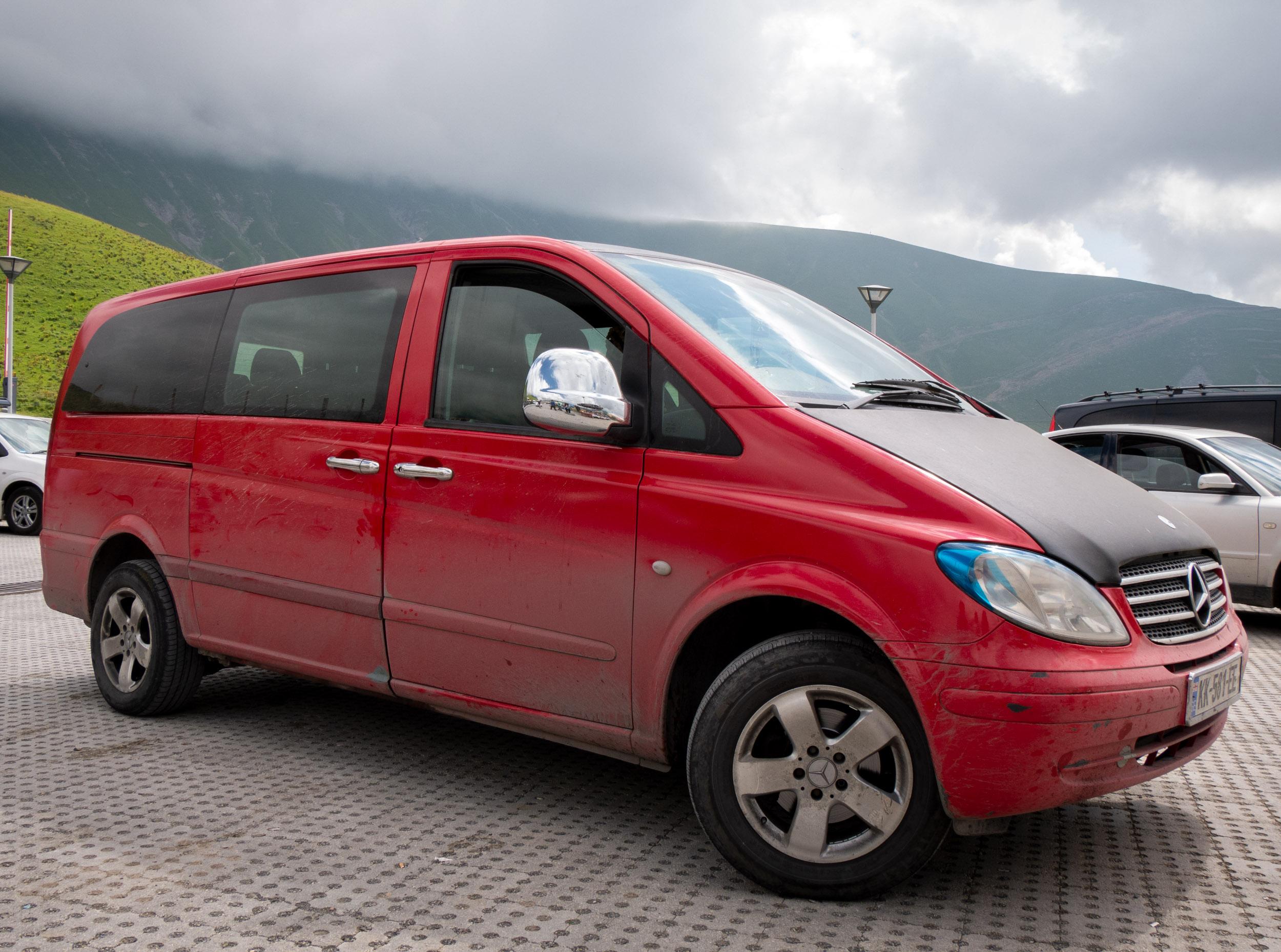 Tbilisi to Kazbegi, Georgia - Minivan