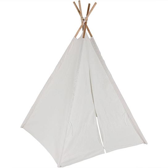 white play teepee tent