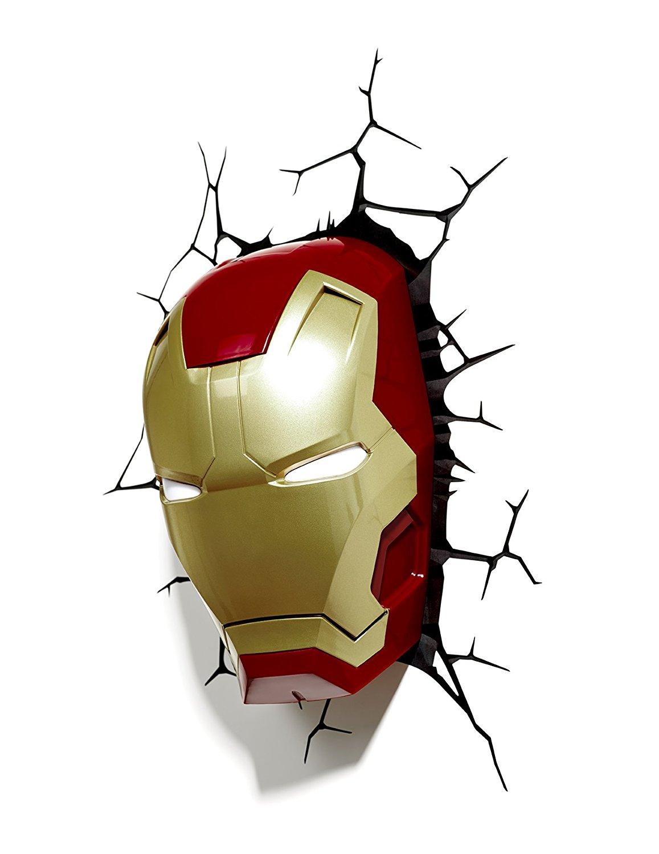 iron man head light