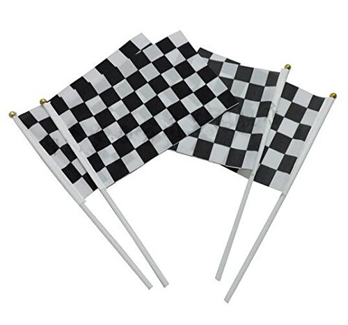 checkered flags fabric