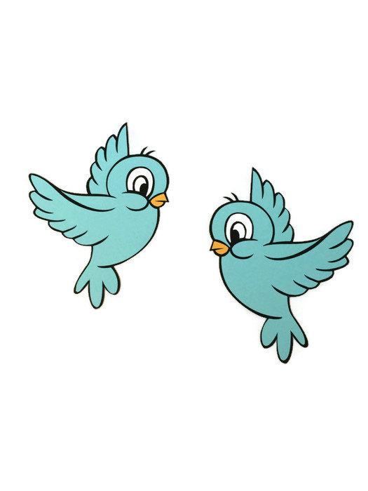 disney bird cutouts