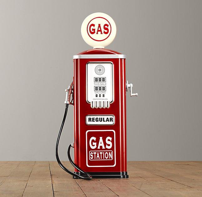 gas pump decor