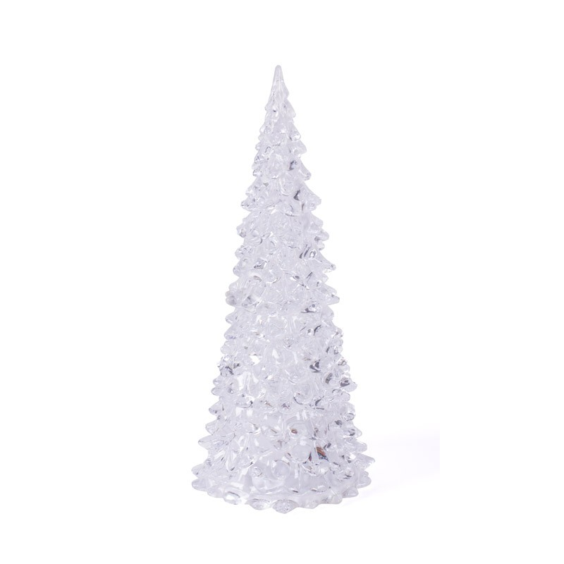 clear led christmas tree