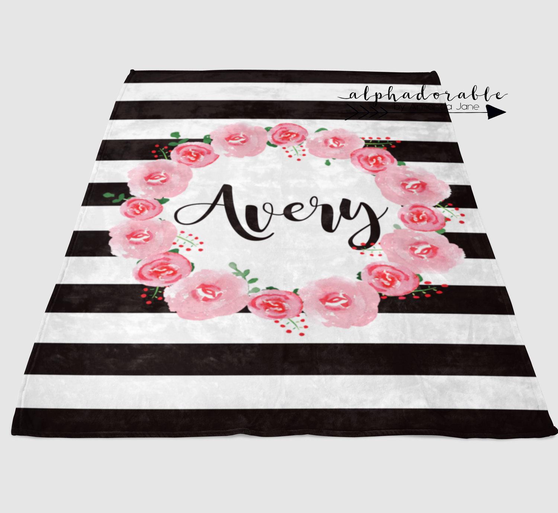 Plus Sign Blanket Monochrome Baby Bedding Black Baby Blanket Baby Blanket Crib Blanket White with Black Plus Sign- Crib Blanket