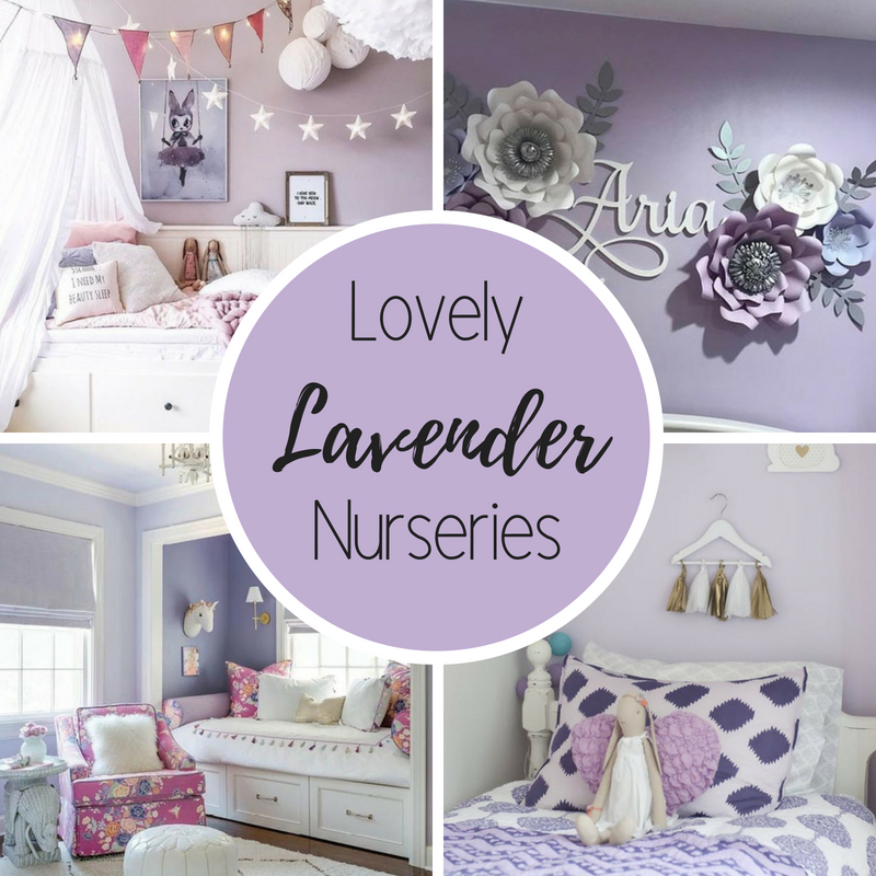 Lovely Lavender Nurseries And Kid S Rooms Alphadorable