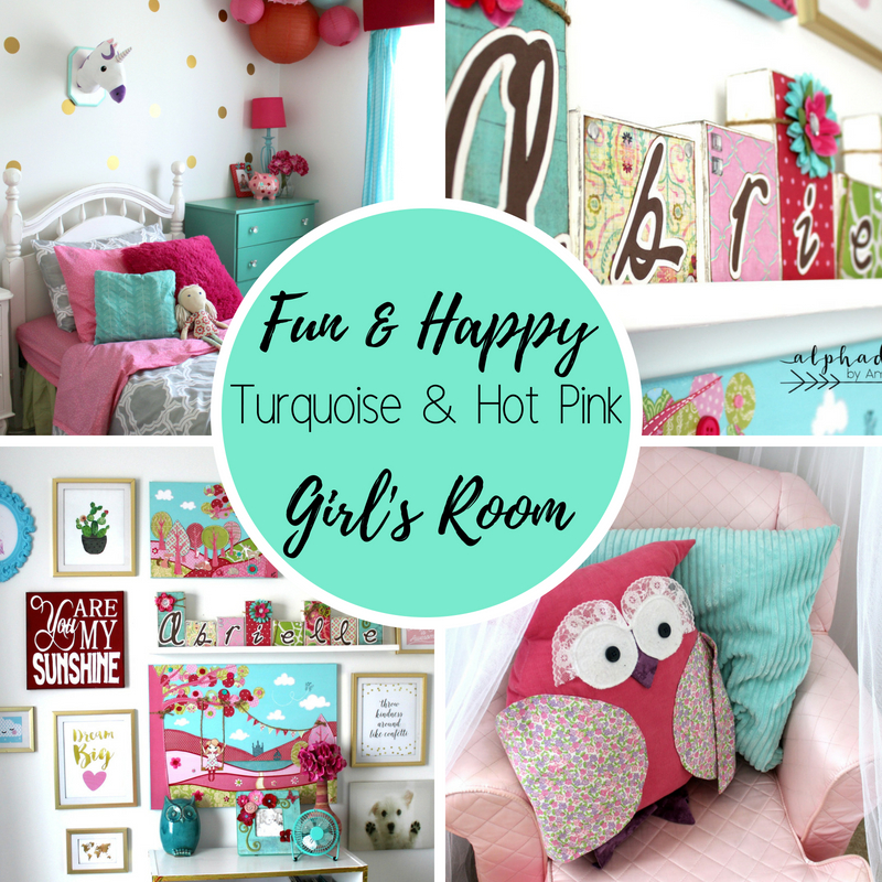 Fun and happy girl's room