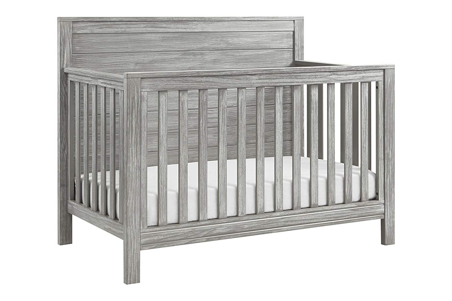 rustic distressed farmhouse style crib