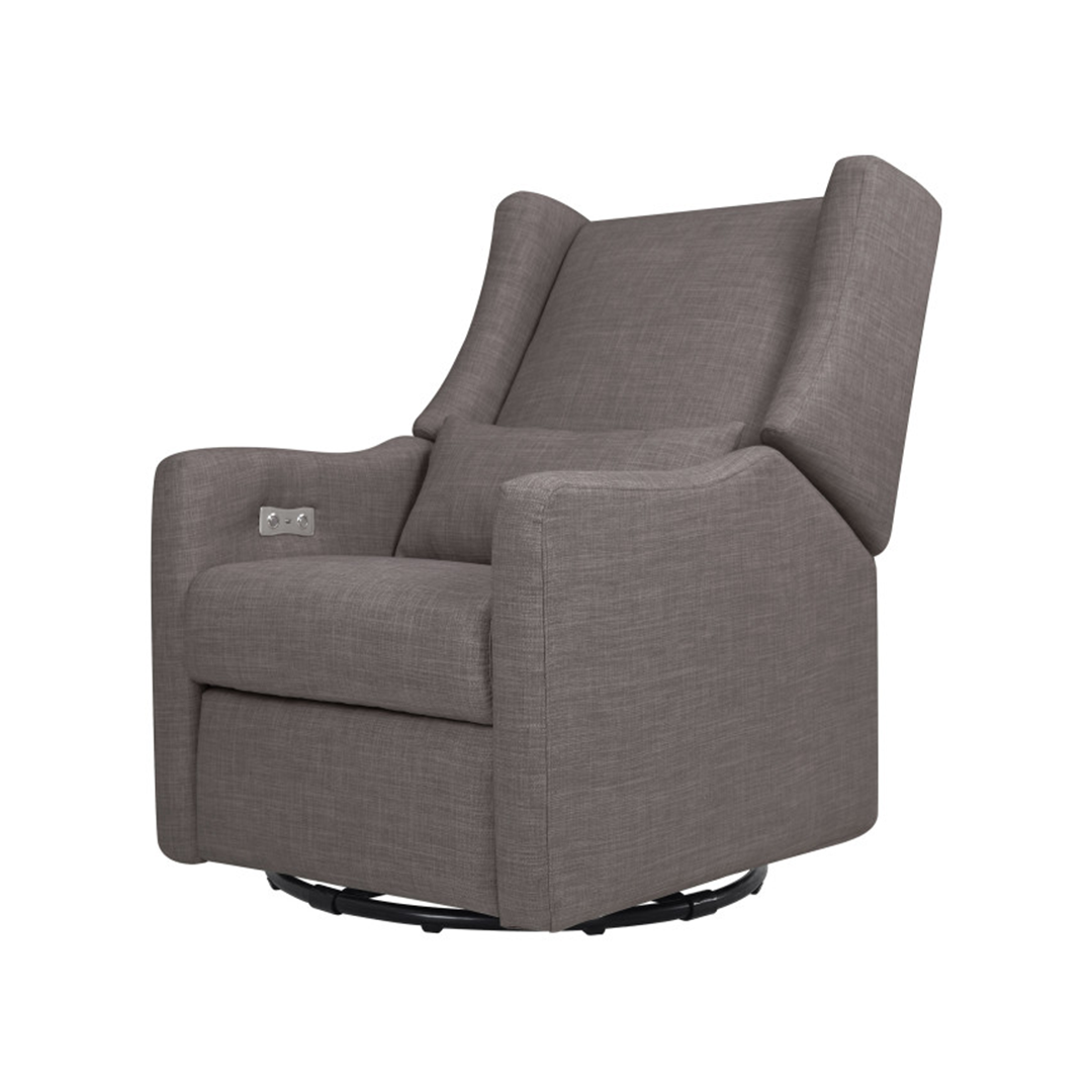 grey nursery rocker