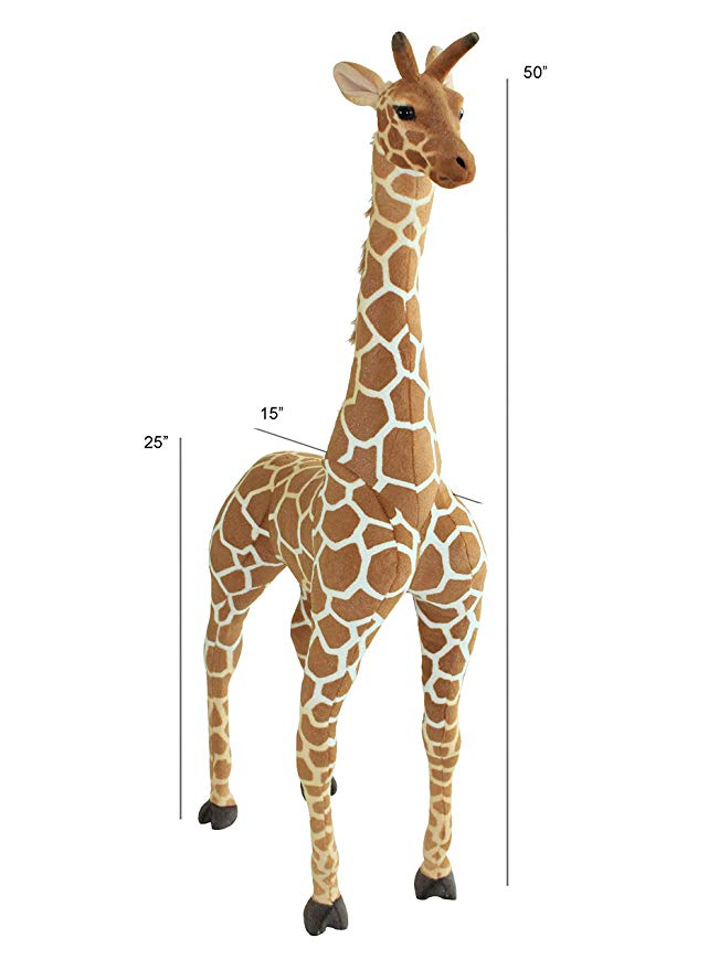 giant giraffe plush stuffed animal