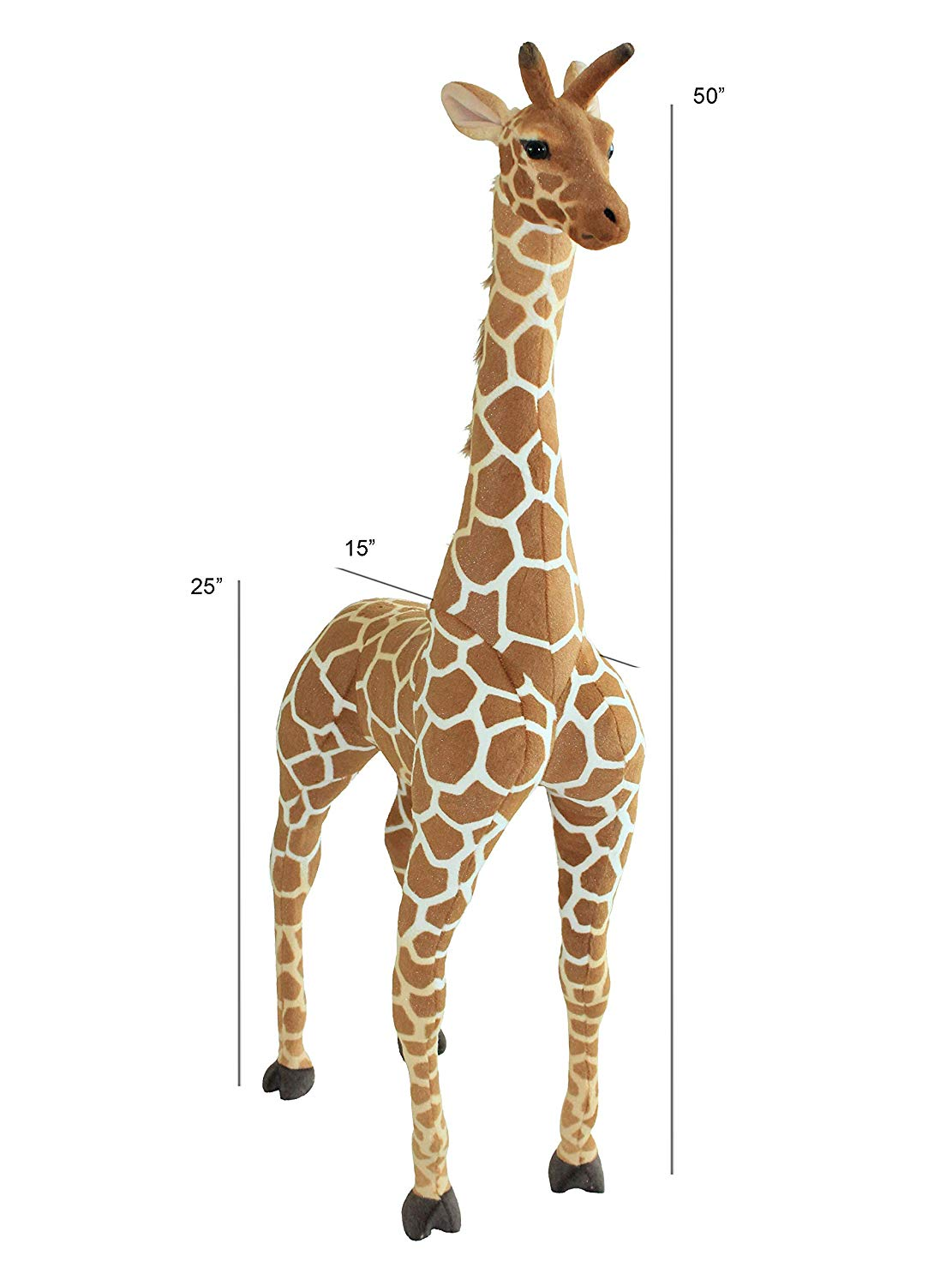 huge giraffe plush