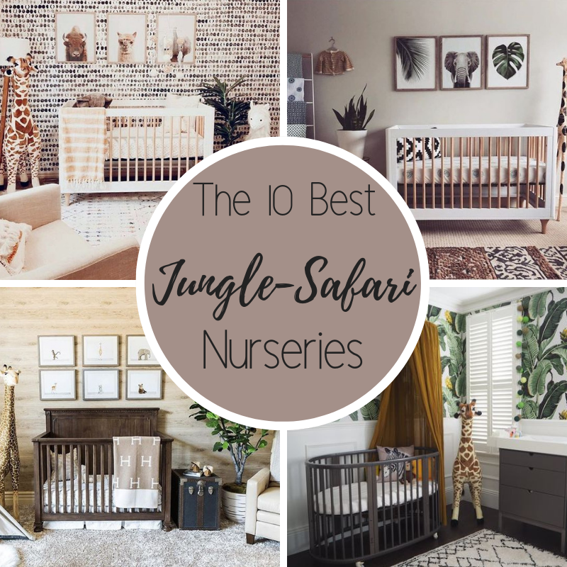 The 10 best jungle safari themed nurseries