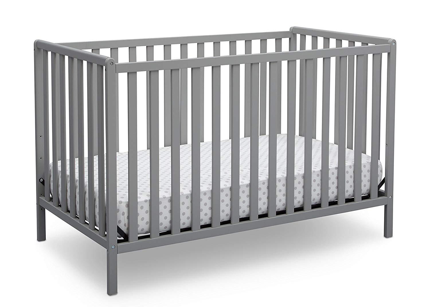 modern simple grey crib