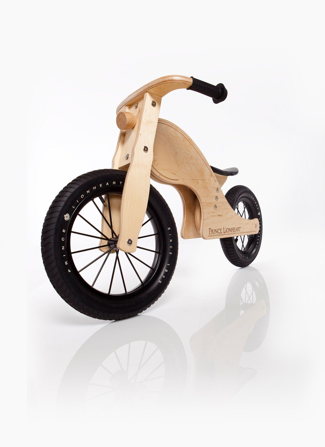 wood motorcycle ride on toy