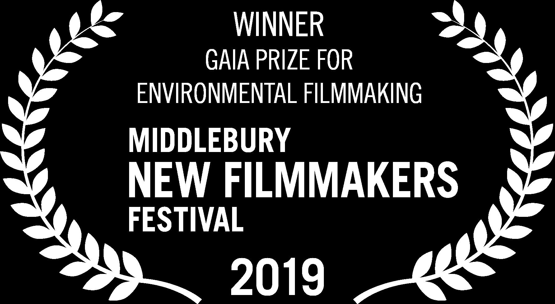 Winner: Gaia Prize for Environmental Filmmaking -