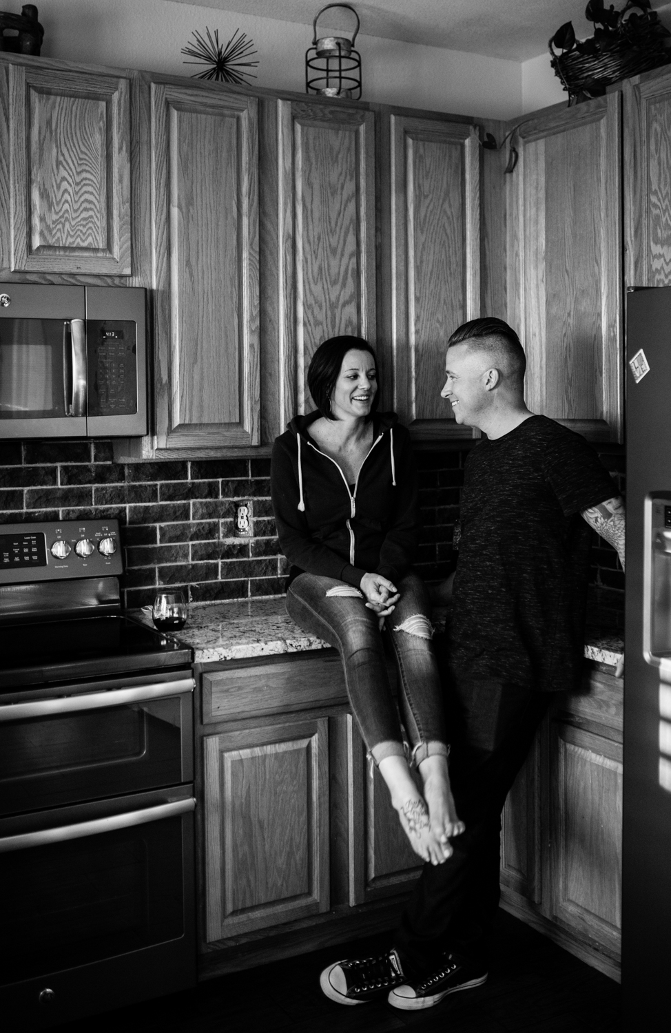 Diana Coulter Photography | Colorado in home session | The Love Series