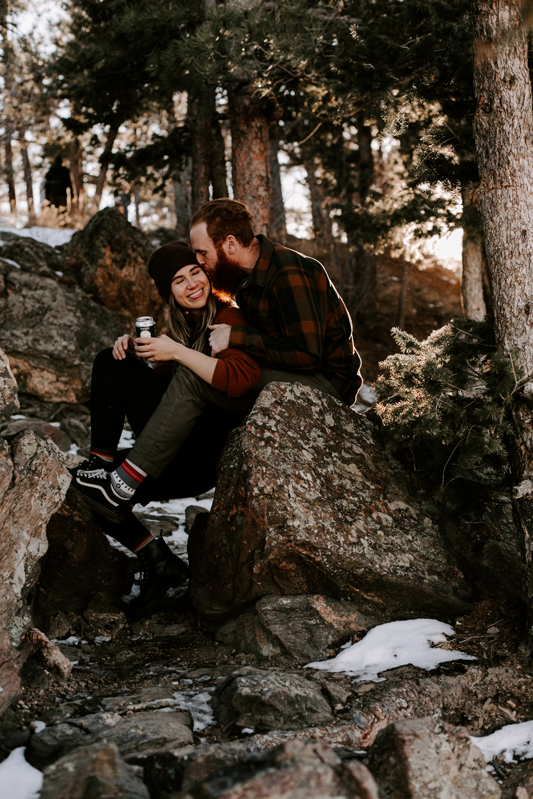 Heather & Joshua Colorado Couples Engagement Mountain Outdoor Session-18.jpg