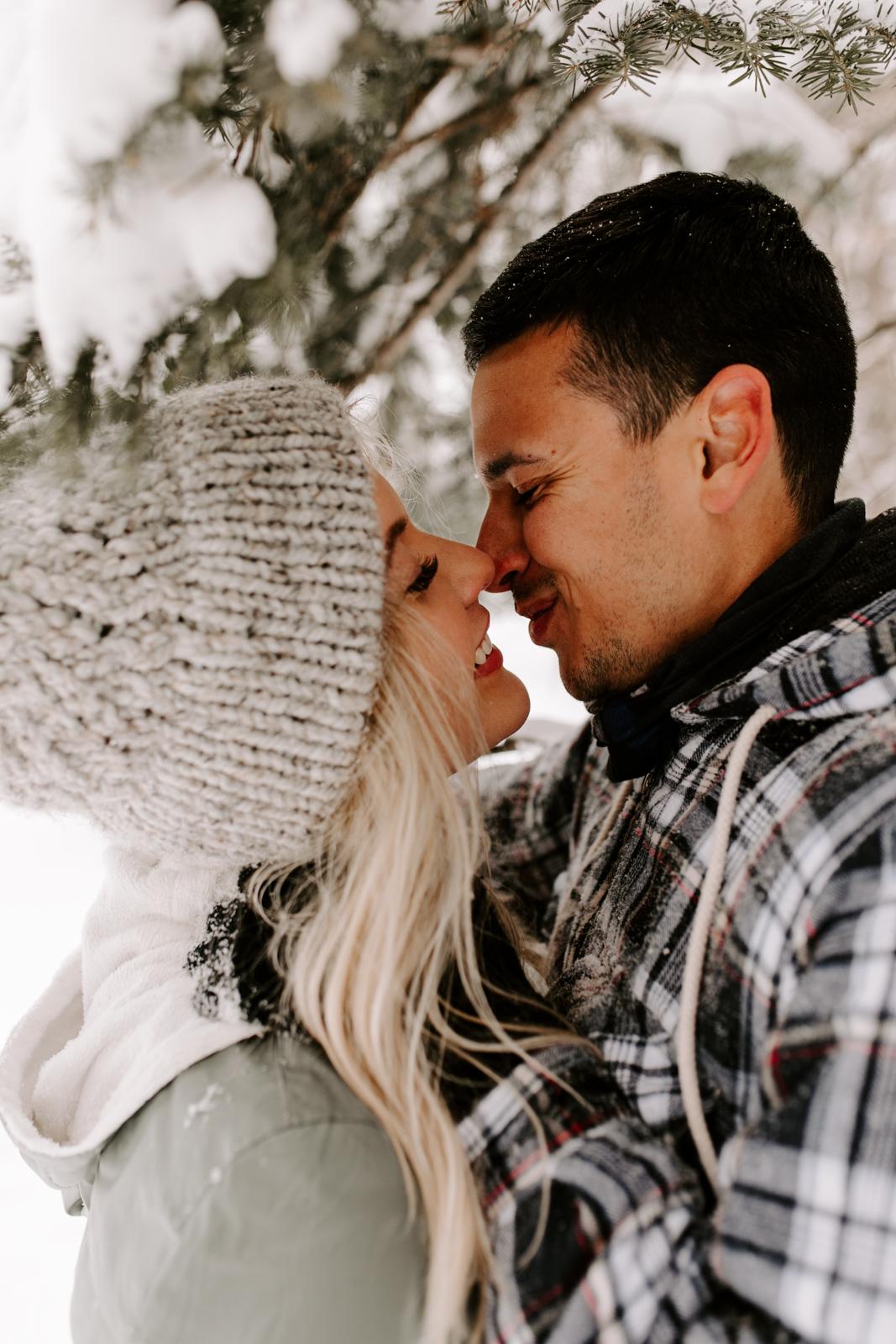 Vanessa & Danny Snow Rocky Mountain National Park Engagement Elopement Photography Photographer-22.jpg