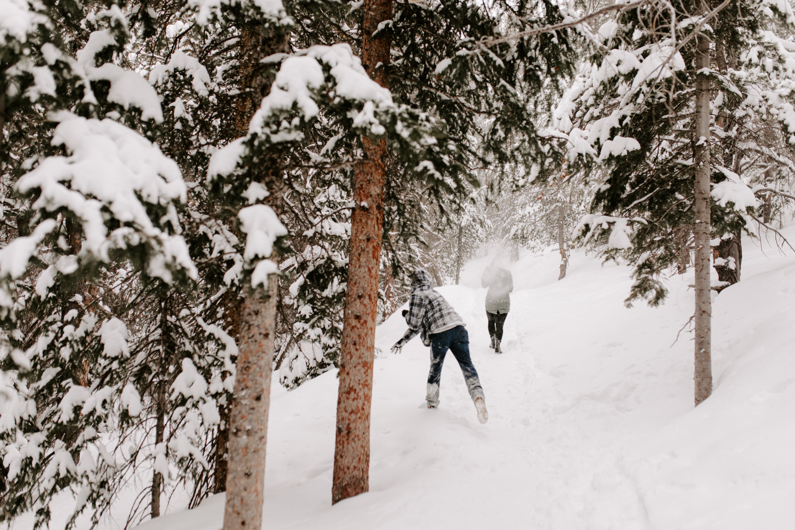 Vanessa & Danny Snow Rocky Mountain National Park Engagement Elopement Photography Photographer-41.jpg