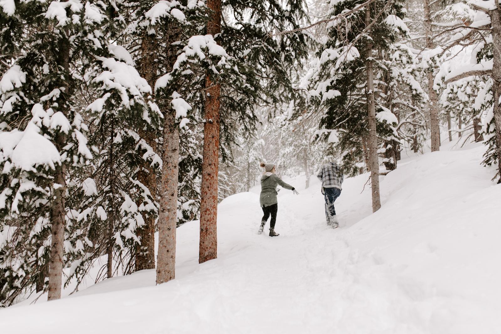 Vanessa & Danny Snow Rocky Mountain National Park Engagement Elopement Photography Photographer-40.jpg