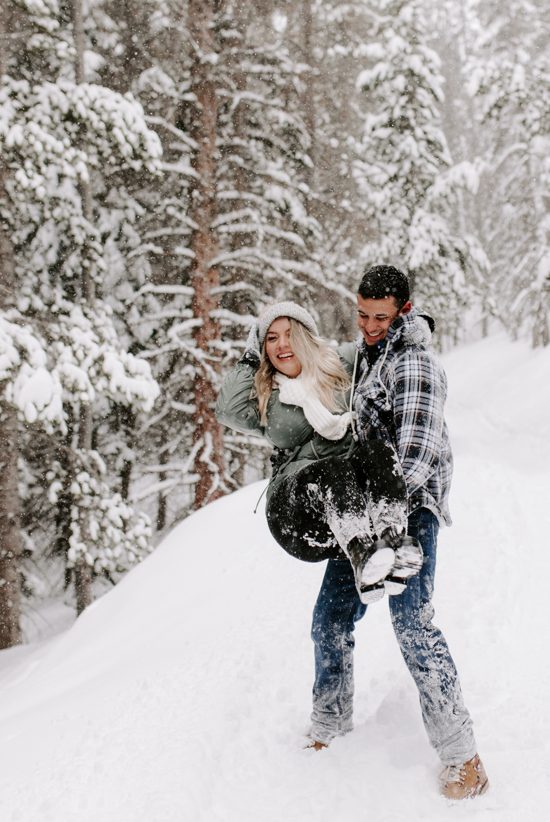 Vanessa & Danny Snow Rocky Mountain National Park Engagement Elopement Photography Photographer-49.jpg