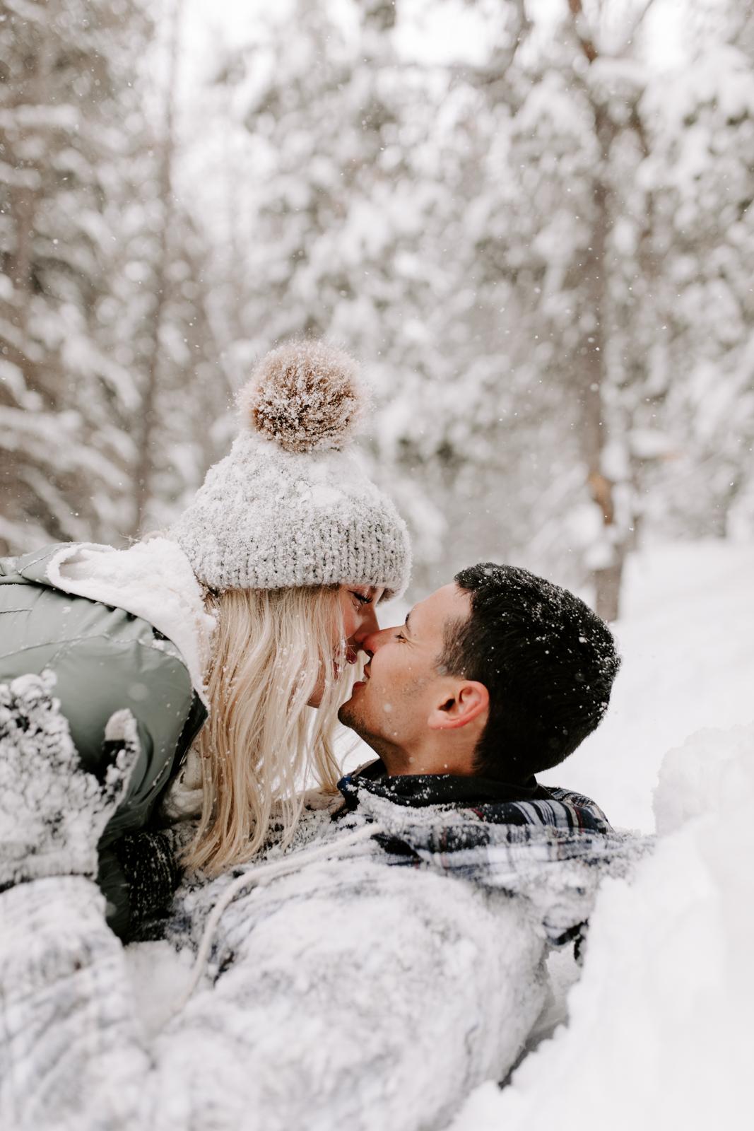 Vanessa & Danny Snow Rocky Mountain National Park Engagement Elopement Photography Photographer-54.jpg