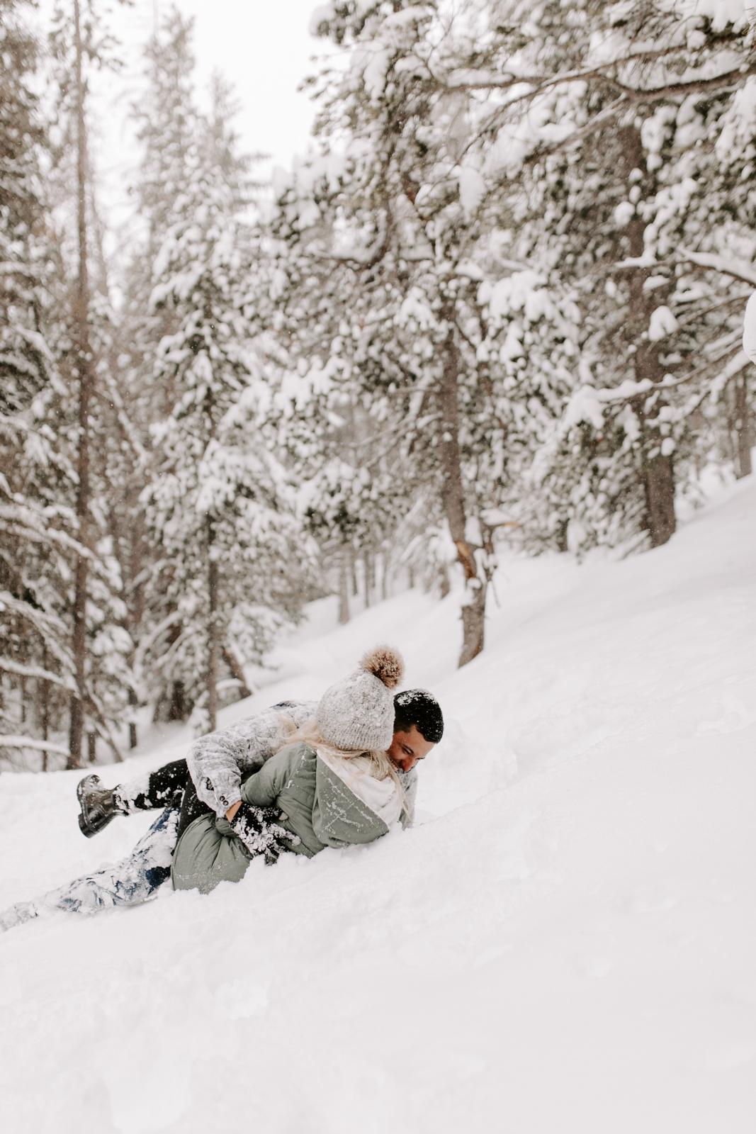 Vanessa & Danny Snow Rocky Mountain National Park Engagement Elopement Photography Photographer-58.jpg