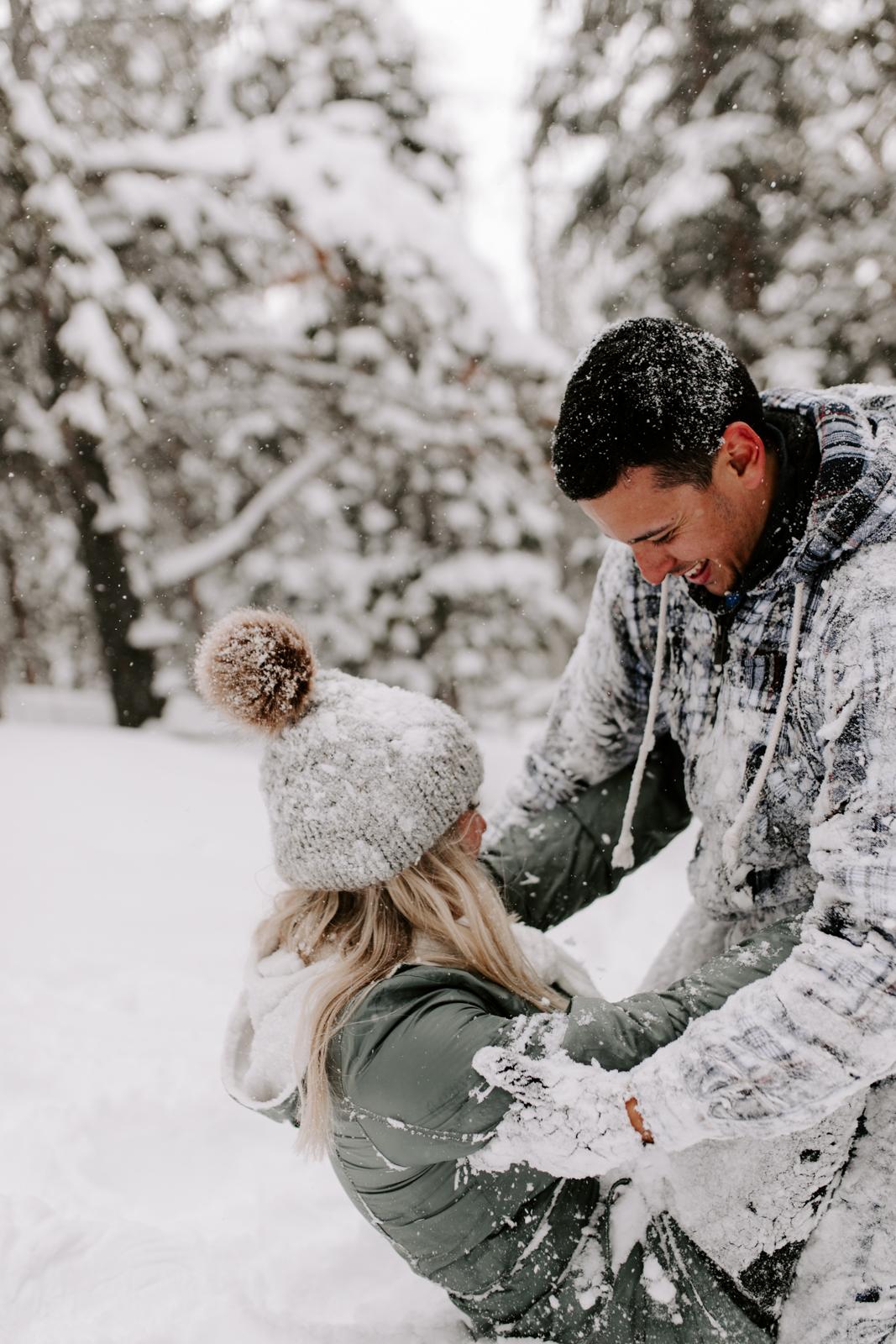 Vanessa & Danny Snow Rocky Mountain National Park Engagement Elopement Photography Photographer-62.jpg