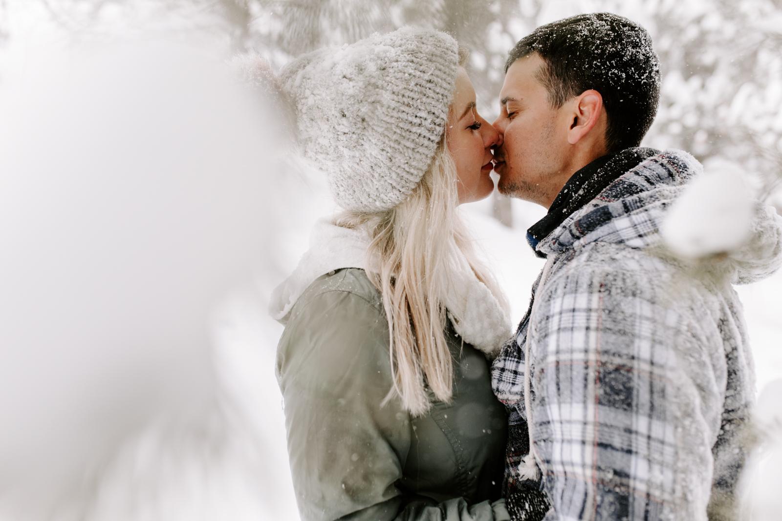 Vanessa & Danny Snow Rocky Mountain National Park Engagement Elopement Photography Photographer-67.jpg