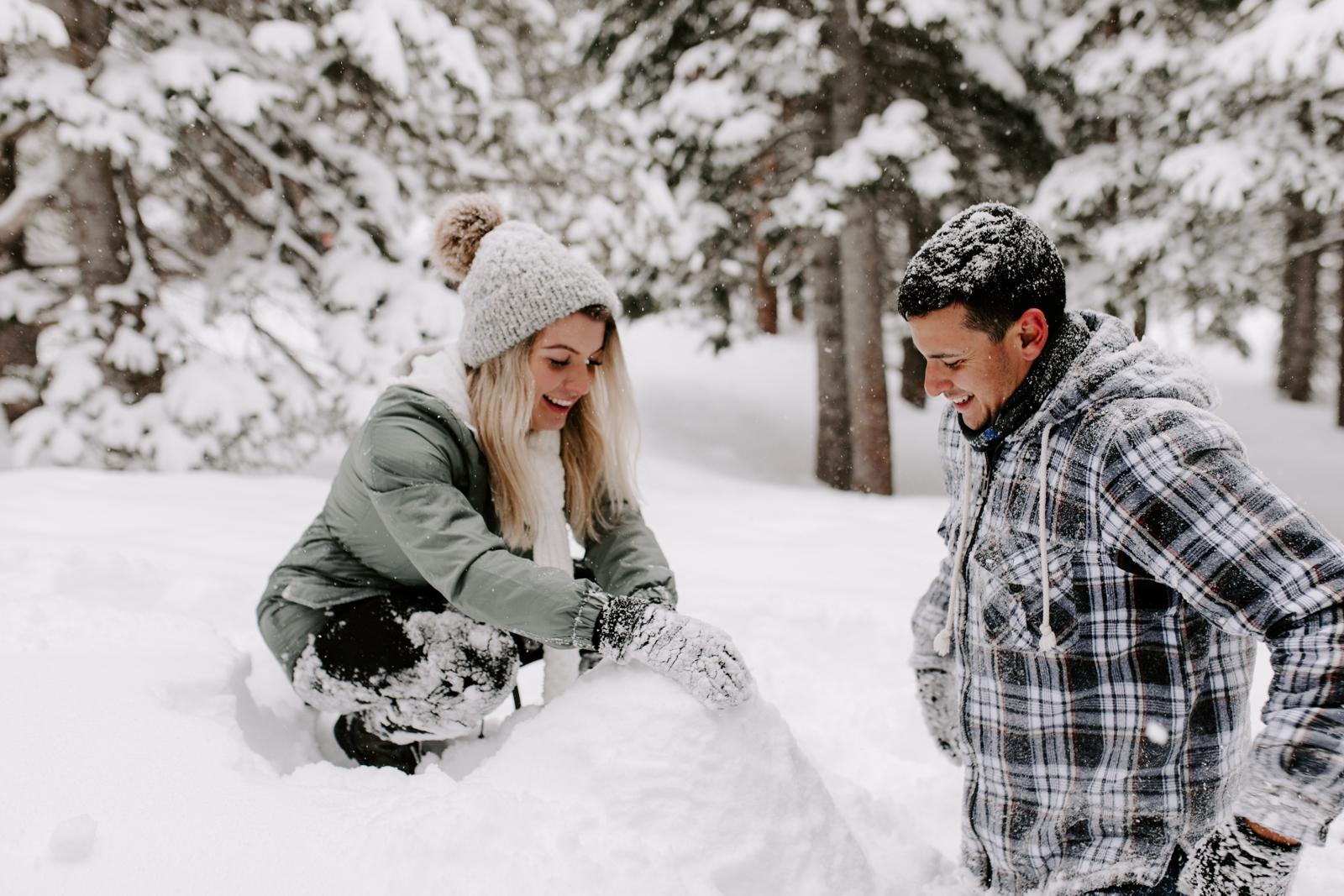 Vanessa & Danny Snow Rocky Mountain National Park Engagement Elopement Photography Photographer-85.jpg
