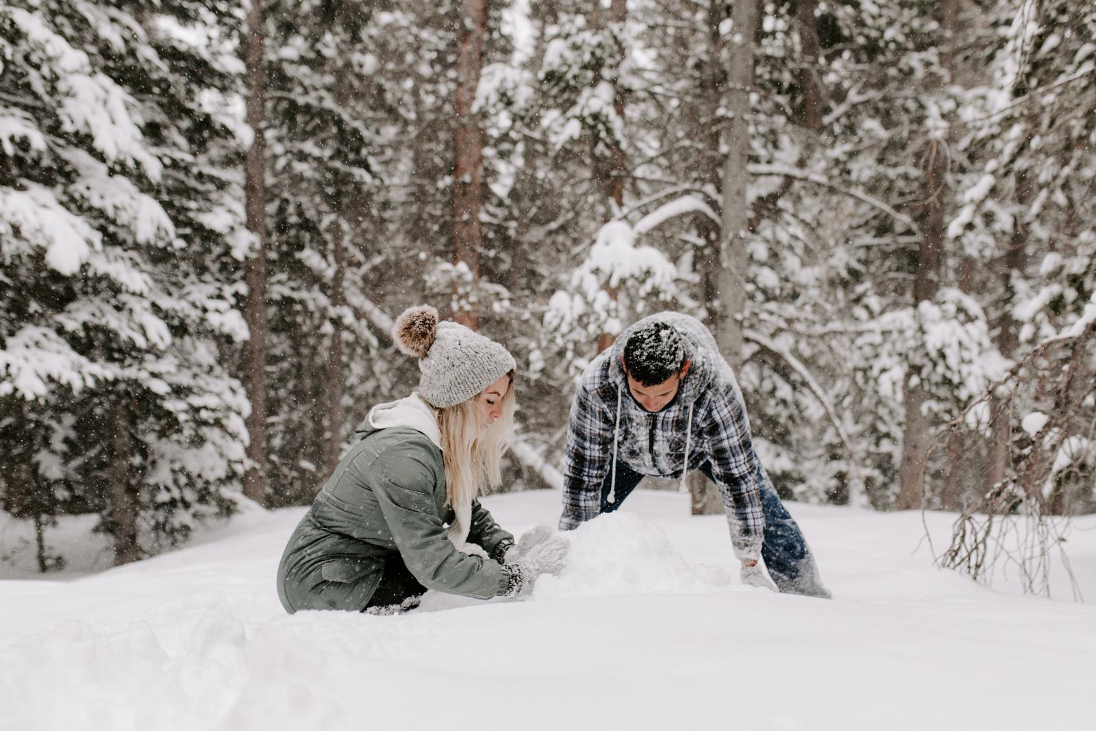 Vanessa & Danny Snow Rocky Mountain National Park Engagement Elopement Photography Photographer-82.jpg