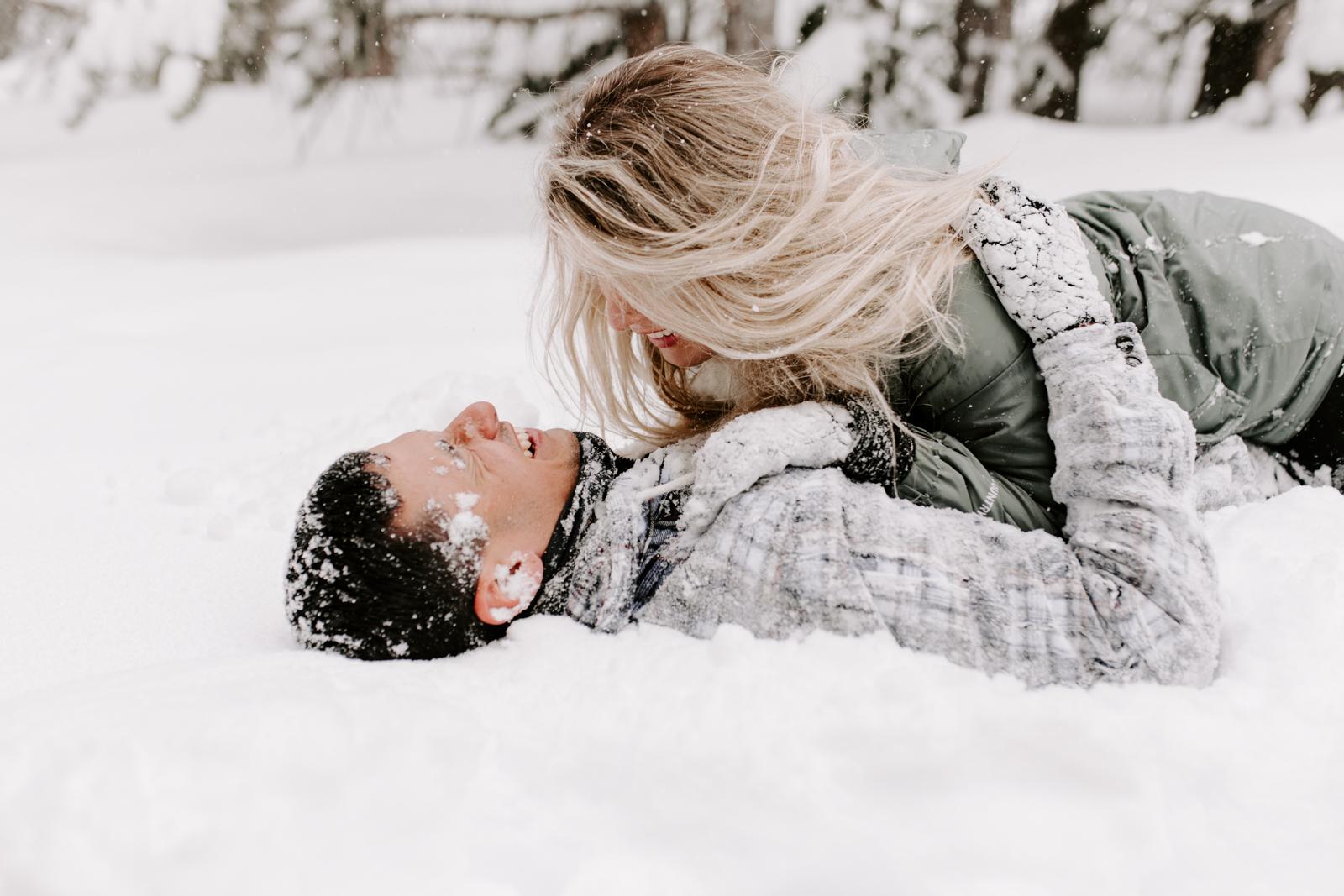 Vanessa & Danny Snow Rocky Mountain National Park Engagement Elopement Photography Photographer-95.jpg