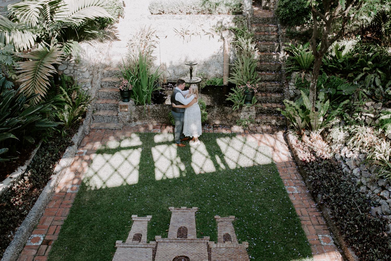 botanic gardens elopement in Gibraltar, Gibraltar, UK-2.jpg